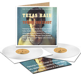 TOWNES VAN ZANDT • TEXAS RAIN (REMASTERED) • 2 LP