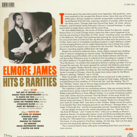 ELMORE JAMES • HITS & RARITIES • 180 GRAM • RED COLORED VINYL