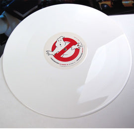 GHOSTBUSTERS • ORIGINAL SOUNDTRACK ALBUM • WHITE COLOR VINYL
