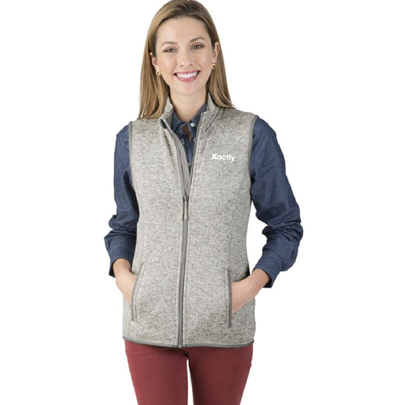 Charles River Ladies' Heathered Vest