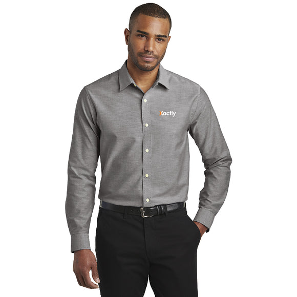 Port Authority® Slim Fit Oxford Shirt