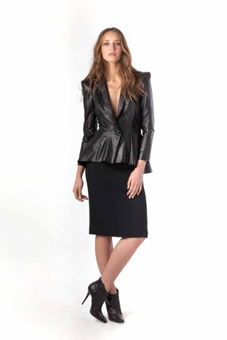 "Soft Touch Leather ""Angelique"" Jacket"