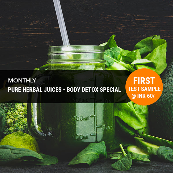 Pure Herbal Juices - Monthly Subscription (Free Home Delivery)