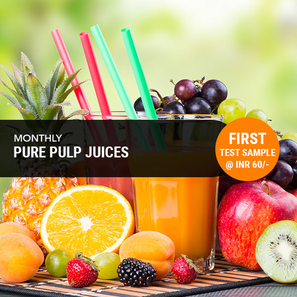 Pure Pulp Juices  -Monthly Subscription (Free Home Delivery)