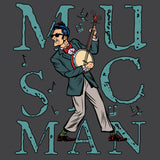 "Hip Banjo Player ""Music Man"" Short-Sleeve Unisex T-Shirt"