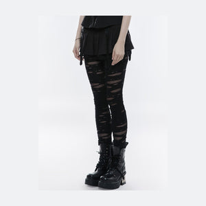 Ripped Off Leggings by Punk Rave