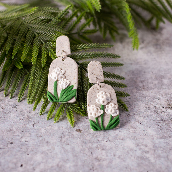 Wild Flowers Earrings by Street Spirit Jewelry