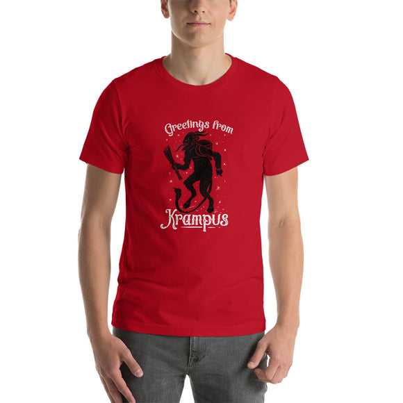 Greetings from Krampus Short-Sleeve Unisex T-Shirt