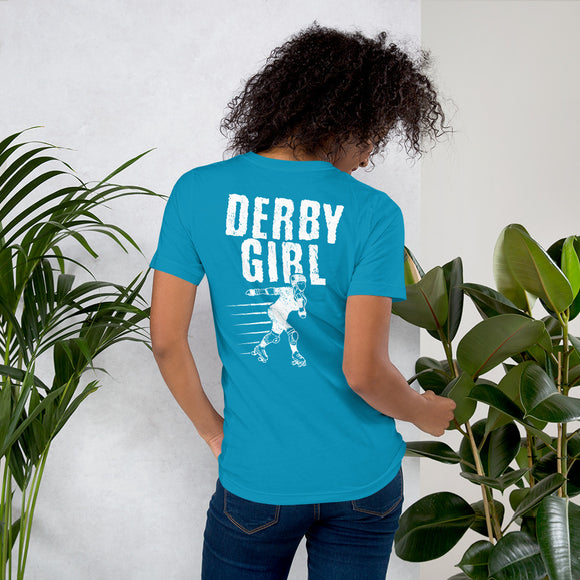 Derby Girl T-Shirt with Print on Back