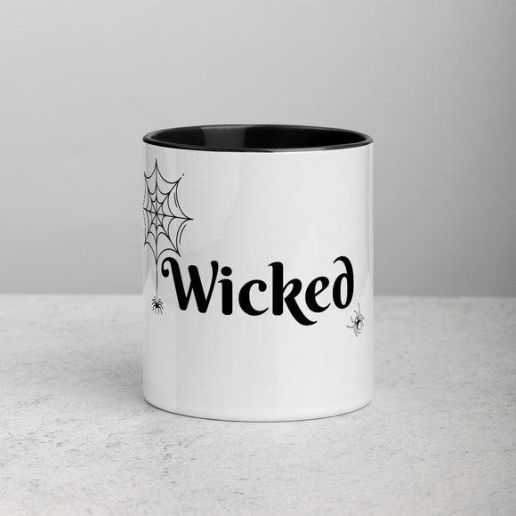 Wicked Goth Coffee Mug with Color Inside