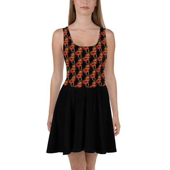 Super Carrot Top Pattern Skater Dress