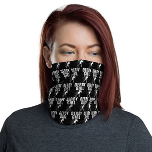 Derby Girl Pattern Neck Gaiter