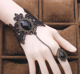 Victorian Bracelet with Attached Ring