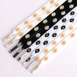Daisy Pattern Shoelaces
