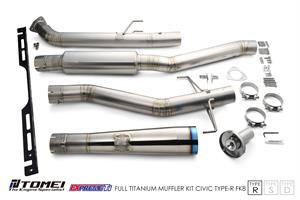 Tomei 2017+ Civic Type-R FK8 Expreme Titanium Exhaust