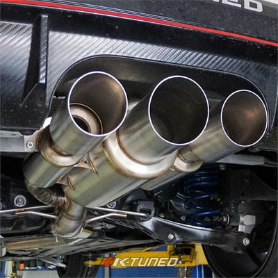 K-Tuned 2017 Honda Civic Type-R FK8 Exhaust