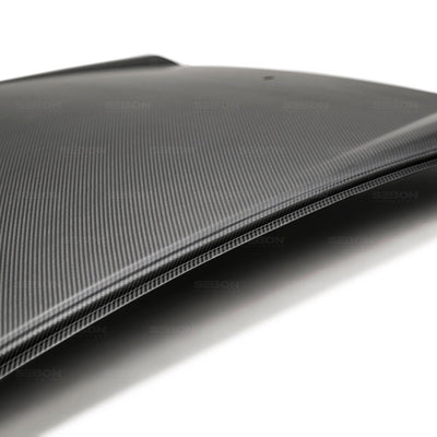 DRY CARBON ROOF REPLACEMENT FOR 2017-2020 HONDA CIVIC HATCHBACK