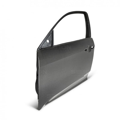 CARBON FIBER DOOR FOR 2017-2020 HONDA CIVIC HATCHBACK - FRONT