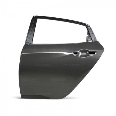 CARBON FIBER DOOR FOR 2017-2020 HONDA CIVIC HATCHBACK - REAR