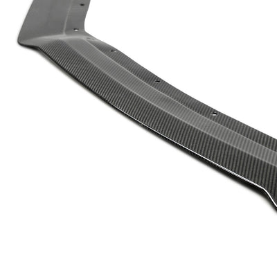 CV-STYLE CARBON FIBER FRONT SPLITTER FOR 2017-2020 HONDA CIVIC TYPE R