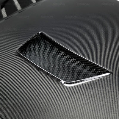 CV-STYLE CARBON FIBER HOOD FOR 2017-2020 HONDA CIVIC TYPE R