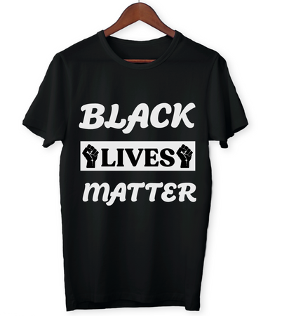 Black Lives Matter Unisex T-Shirt, 2nd version