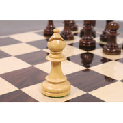 "4.3"" Marengo Luxury Staunton Chess Pieces Only Set- Ebony Wood Triple Weight"