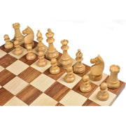 1920's German Collectors' Chess Pieces Only Staunton set- Golden Rosewood - 4.1""