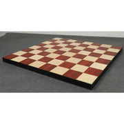 Borderless Chess board -56 mm Square- Bud Rosewood & Maple Wood -17.7 inch