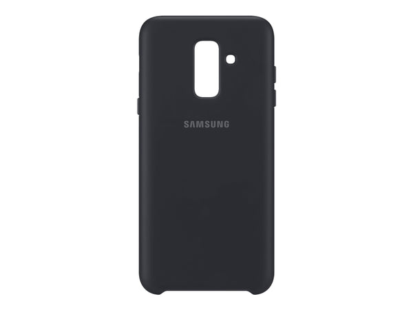 Samsung Dual Layer Cover EF-PA605 - Sort - Galaxy A6+