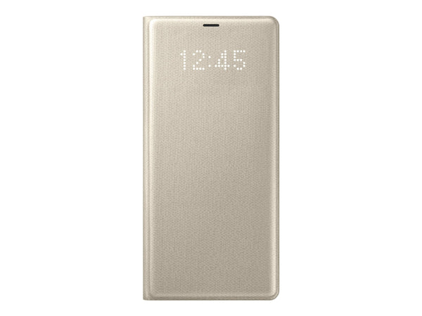 Samsung LED View Cover EF-QN950 - Guld - Galaxy Note 8