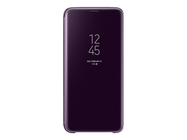 Samsung Clear View Standing Cover EF-ZG960 - Violet - Galaxy S9, S9 Deluxe Edition