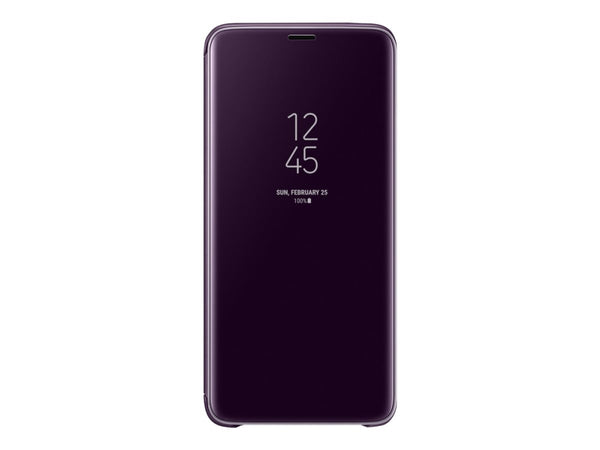 Samsung Clear View Standing Cover EF-ZG965 - Lilla - Galaxy S9+, S9+ Deluxe Edition