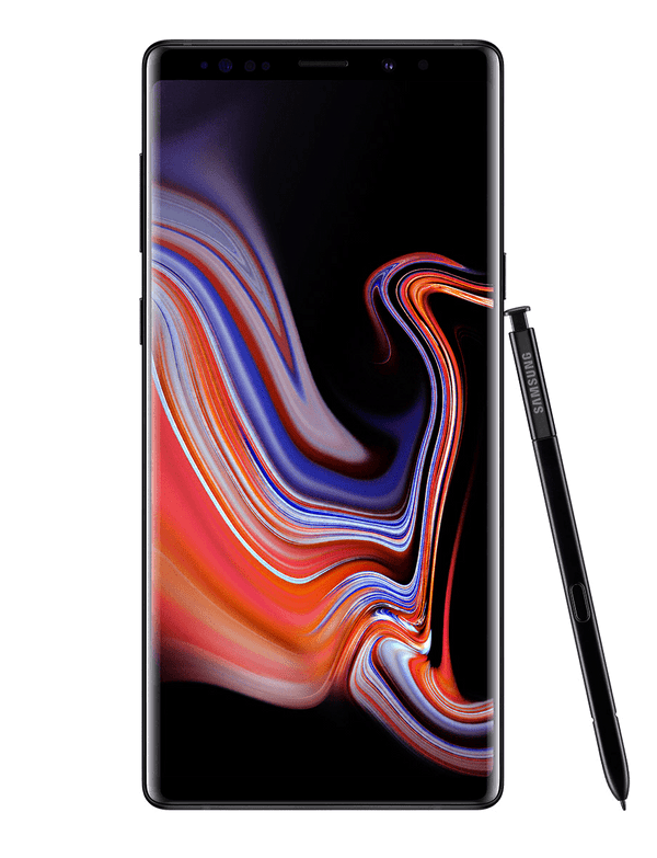 Samsung Galaxy Note 9 - 128 GB - Midnat sort