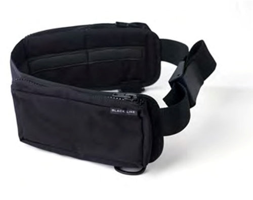 Poseidon Black Line Zippered Weight Belt