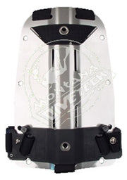Halcyon Stainless Steel Backplate with Quick Adjust Harness