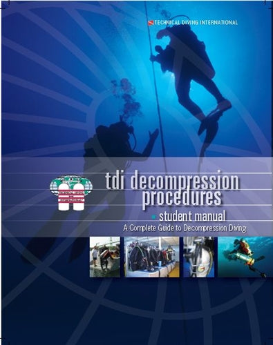 TDI Decompression Procedures Manual w- Knowledge Quest