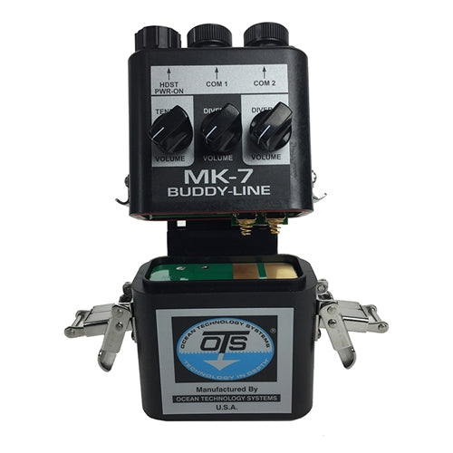 MK-7 BuddyLine Portable two diver air intercom (4 wire only)(comes w/THB-7A headset with boom mic).
