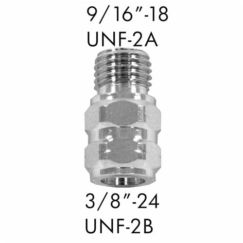 "AD-02 9/16""-18 UNF-2A to 3/8""-24 UNF-2B"