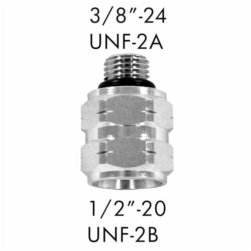 "AD-03 Scuba Adapter 3/8""-24 UNF-2A to 1/2""-20 UNF-2B"