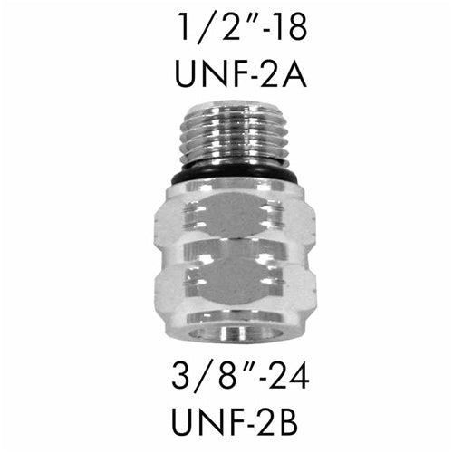 "AD-04 Scuba Adapter 1/2""-18 UNF-2A to 3/8""-24 UNF-2B"