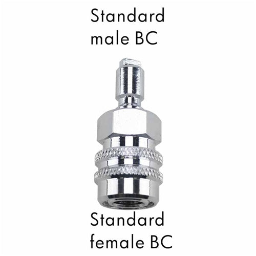 AD-17  Scuba Adapter Standard Male BC to Standard Female BC