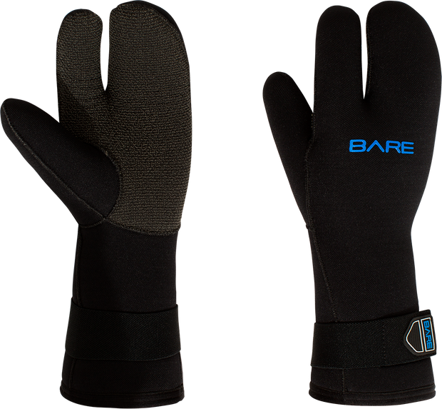 7MM K-PALM 3-FINGER MITTs