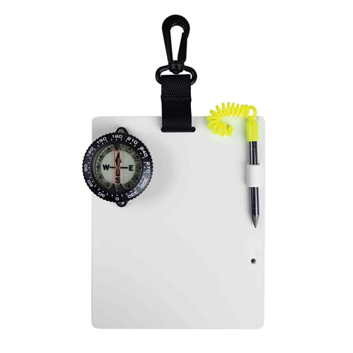 Large Dive Slate w/ Compass