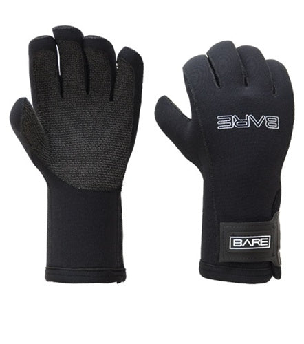 BARE PRO Series 5mm Kevlar Palm Gloves