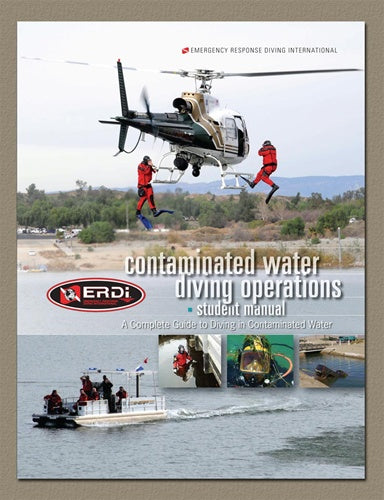 ERDI Contaminated Water Diving Operations student manual