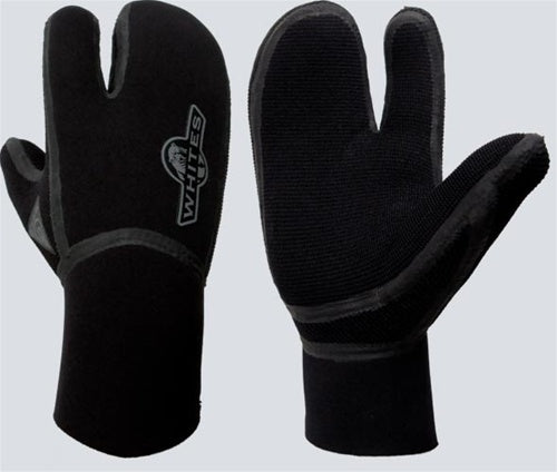 Whites 6mm Neoprene 3 Finger Gloves