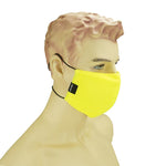 AURA MASK SAFETY NEON YELLOW - WASHABLE