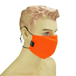 AURA MASK SAFETY ORANGE - WASHABLE