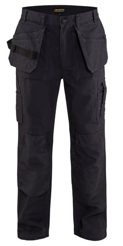 1630  1320 BRAWNY WORK PANTS - W/ UTILITY POCKETS 12oz (Blue or Black)